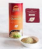 ZUVA Afrikanische weiße Quinoa: Reich an Proteinen und Ballaststoffen, das Premium Superfood aus Afrika (400g)