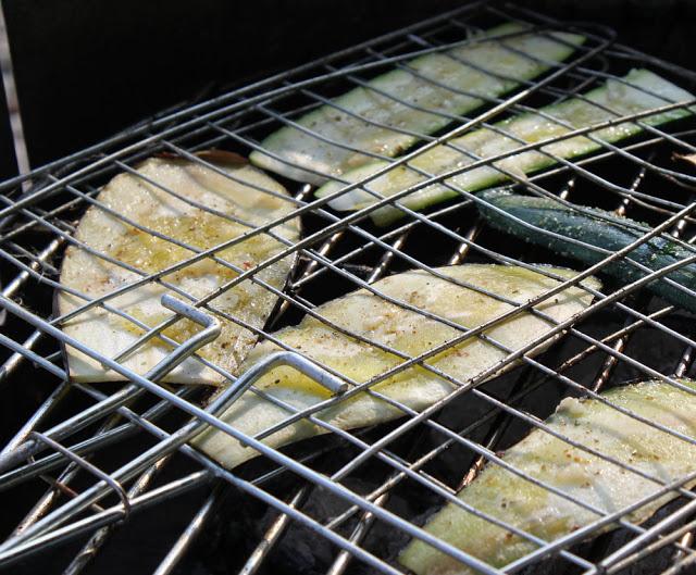 Auberginenscheiben vom Grill
