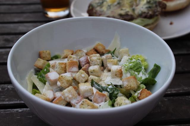 schneller Caesar Salad