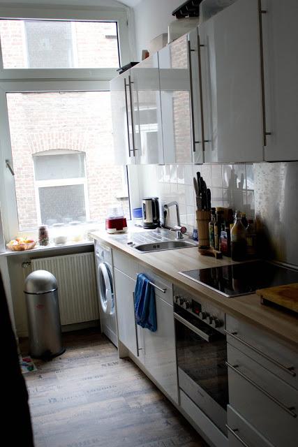 Ansicht meiner Küche