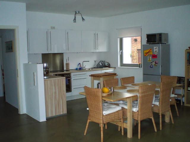meine alte Küche in der vorherigen Wohnung