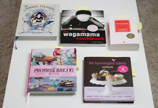 meine London-Mitbringsel: 5 englischsprachige Kochbücher