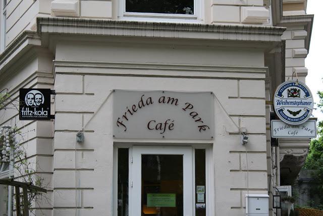 Das Café Frieda am Park in Hamburg-Altona
