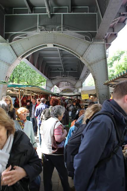 der Isemarkt in Hamburg Eppendorf