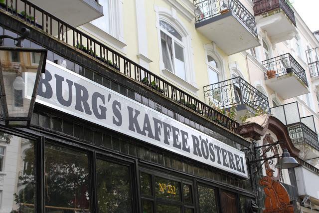 Burg's Kaffee Rösterei in Hamburg-Eppendorf