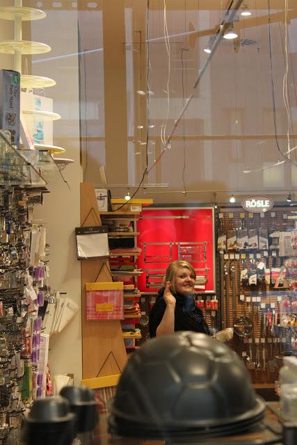 ein kleiner Abstecher ins Handelshaus Laegel in Hamburg