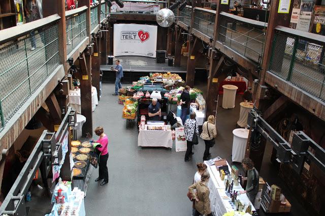 Die MarktZeit in der Fabrik in Hamburg-Ottensen