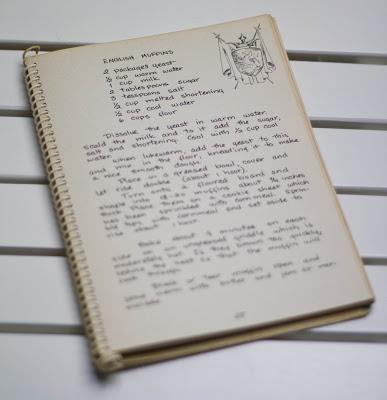 das Originalrezept für English Muffins von 1951