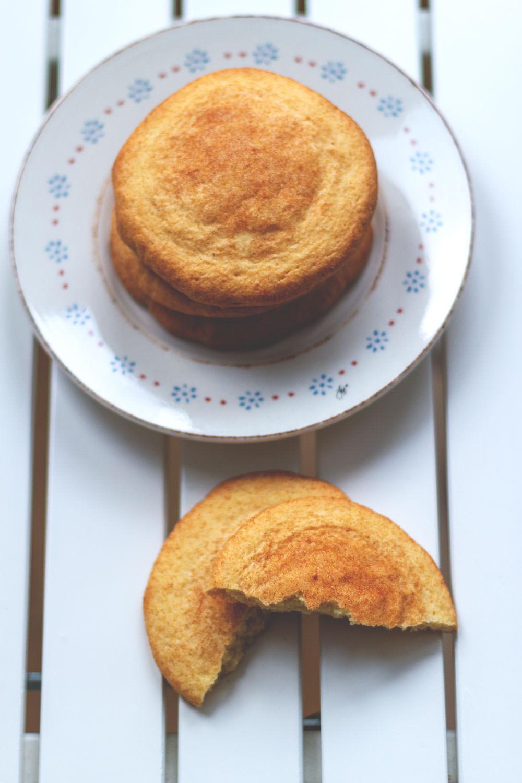 Rezept für leckere Snickerdoodles | amerikanische Cookies | perfekte Weihnachtsplätzchen | moeyskitchen.com #snickerdoodles #cookies #kekse #weihnachtsplätzchen #foodblogger #rezepte