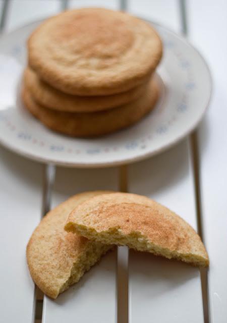 Snickerdoodles - amerikanische Kekse mit Zimt und brauner Butter