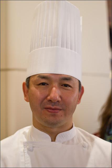 Koichi Oishi, Chef-Patissier aus dem Hotel Nikko in Osaka