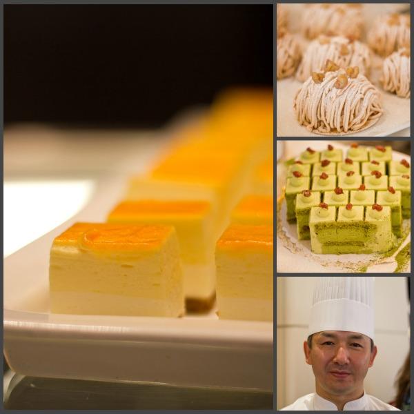 japanisch-deutsche Köstlichkeiten, Koichi Oishi, Chef-Patissier aus dem Hotel Nikko in Osaka