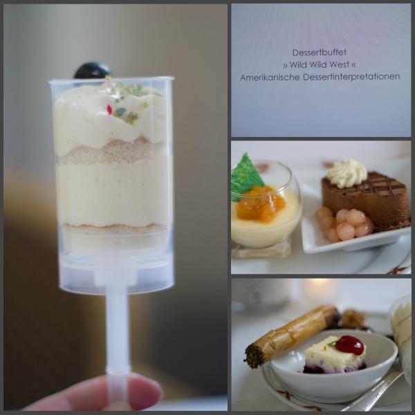 Dessertbuffet Wild Wild West, amerikanische Dessertvariationen