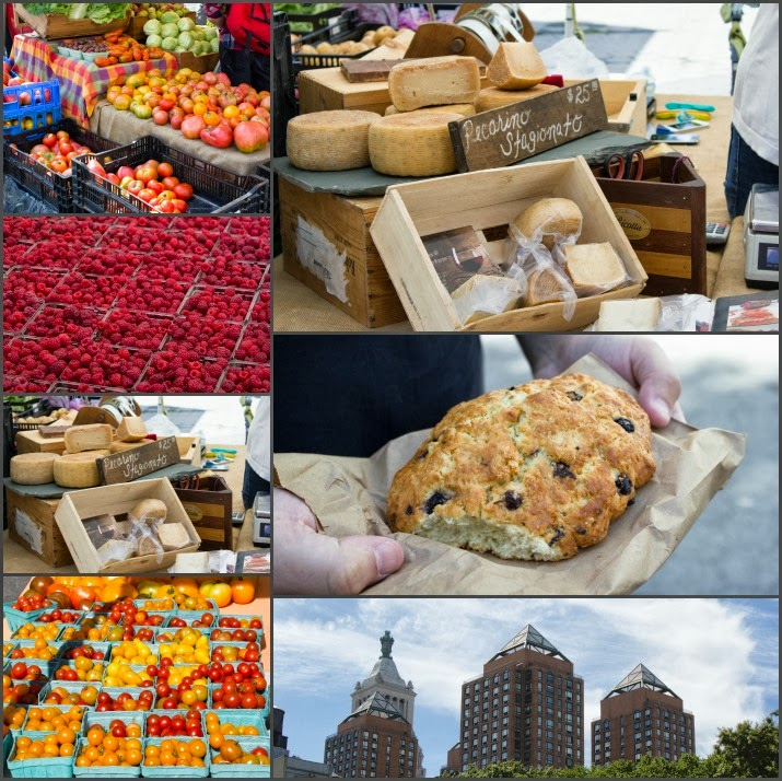 Farmers Market, Union Square, Markt, Gemüse, Obst, Käse, Scone, Manhattan, New York, USA