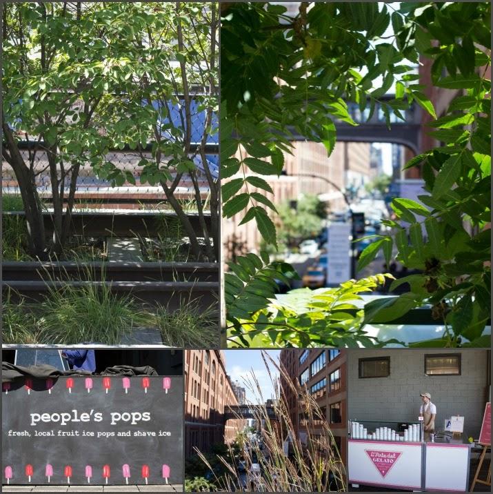 The Highline, Manhattan, New York, USA, Park, people's pops