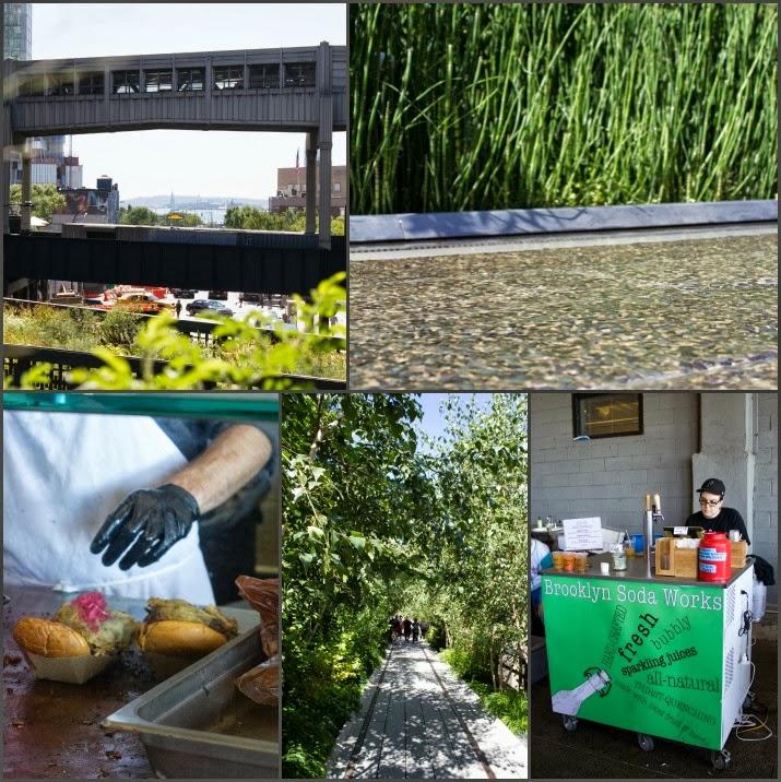 The Highline, Manhattan, new York, USA, Park, Brooklyn Soda Works, Briskettown