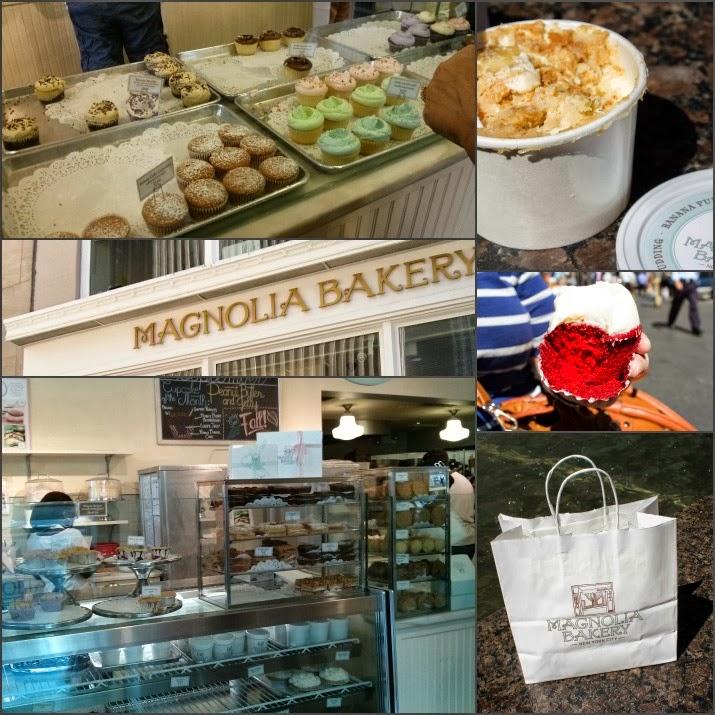 Magnolia Bakery, Cupcakes, Banana Pudding, Café, Cupcakes, Red Velvet Cupcake, Rockefeller Center, Rockefeller Plaza, Manhattan, New York, USA