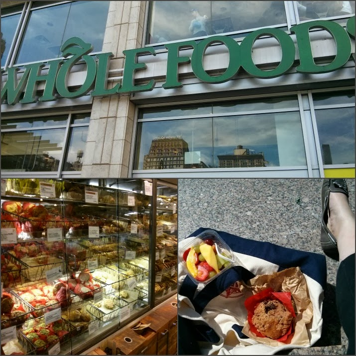 Whole Foods, Muffins, Obst, Union Square, Manhattan, New York, USA