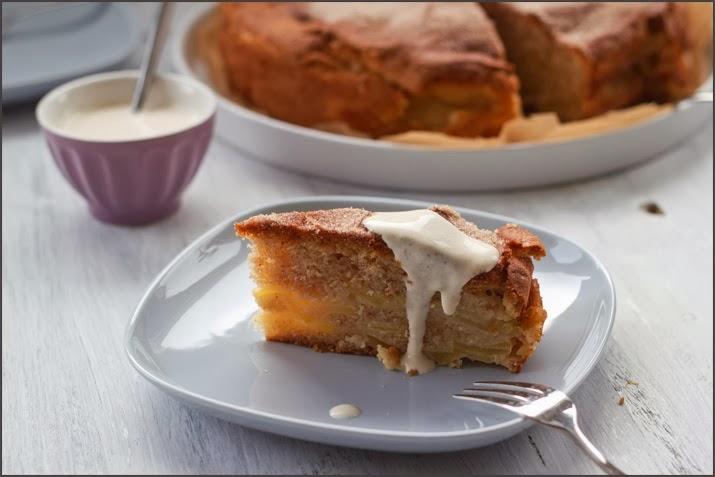 Apfelkuchen, Apfel-Schichtkuchen, Annik Wecker, Anniks Lieblingskuchen, Dorling Kindersley