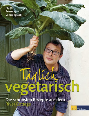 Buchcover Täglich vegetarisch, River Cottage, Hugh Fearnley-Whittingstall, AT Verlag