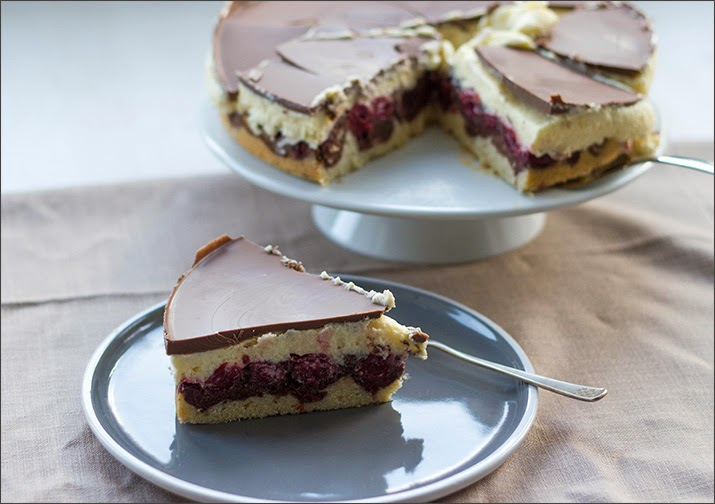 Donauwelle, Torte, Kuchen, Rezept, Klassiker