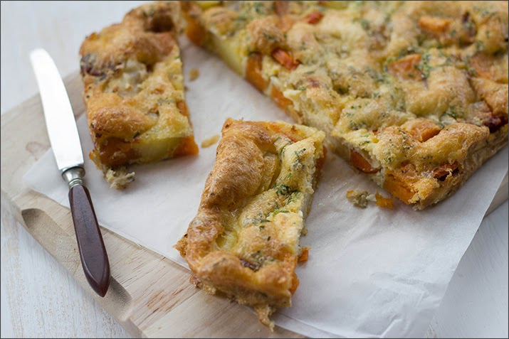Ofengebackene Wurzel-Frittata nach Hugh Fearnley-Whittingstall