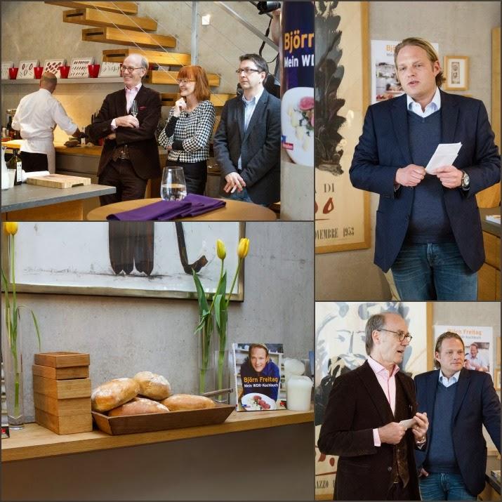 Buchvorstellung Björn Freitag - Mein WDR-Kochbuch von Zabert Sandmann in Köln