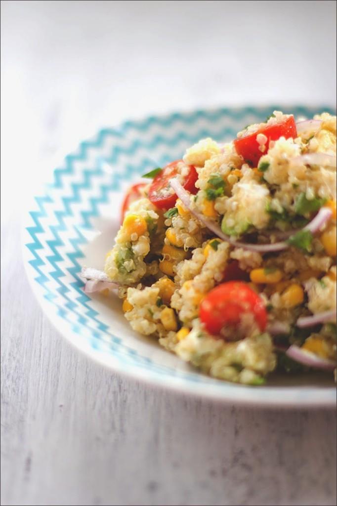 Frisches Salat-Rezept für Quinoa-Salat (Südamerikanisch)