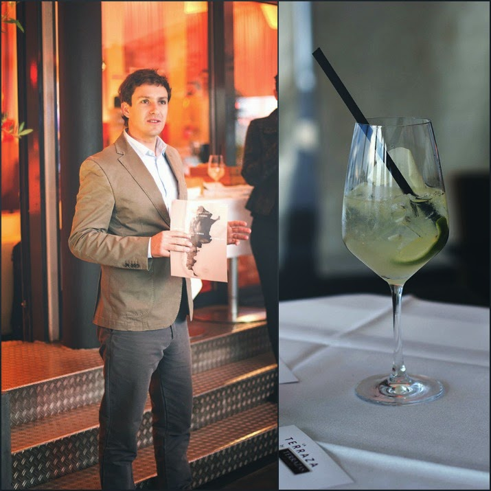 Winetasting Köln Terrazas de los Andes: Kellermeister Gonzalo Carrasco und Torrontès Aperitif