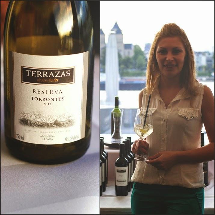 Winetasting Terrazas de los Andes: reserva Torrontès 2012 und Köchin Noelia Squizziatto