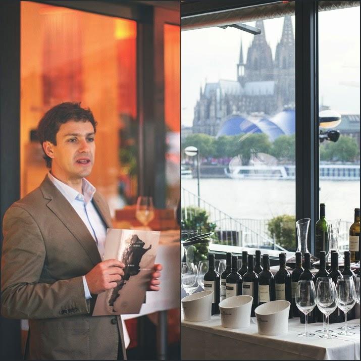 Winetasting Terrazos de los Andes: Kellermeister Gonzalo Carrasco und Terrazas Weine mit Domblick