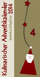 Türchen 4 des Kulinarischen Adventskalenders 2014 von www.kochtopf.me