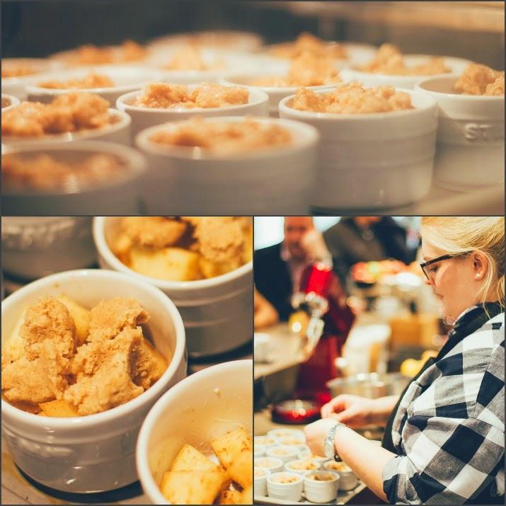 Maja von moey's kitchen backt köstlichen Bratapfel-Crumble