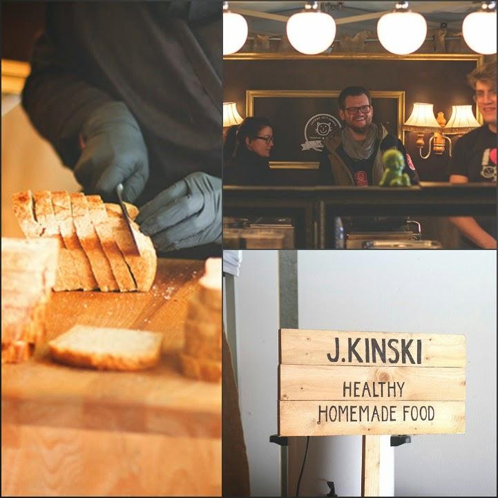 Dreierlei Sandwiches von J. Kinski beim Street Food Festival in Köln
