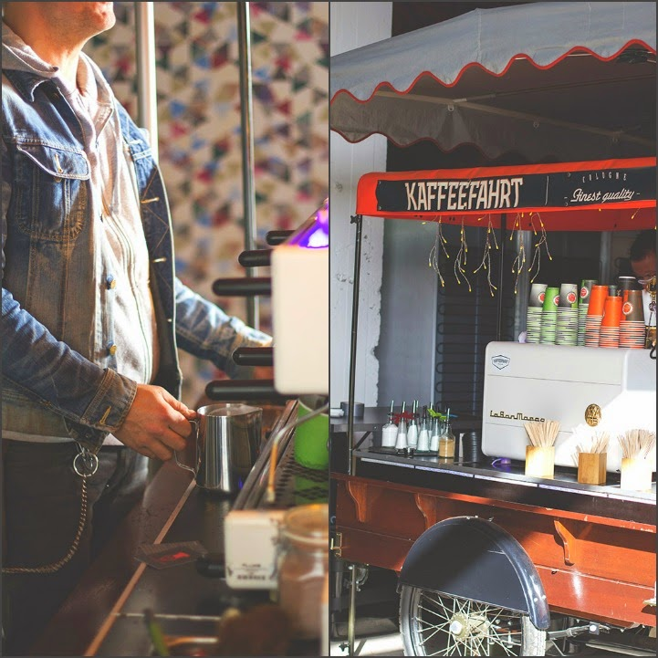 köstliche Kaffeespezialitäten von Kaffeefahrt beim Street Food Festival in Köln