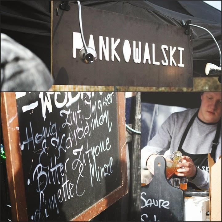 selbst angesetzter Wodka bei Pankowalski aus Polen beim Street Food Festival in Köln