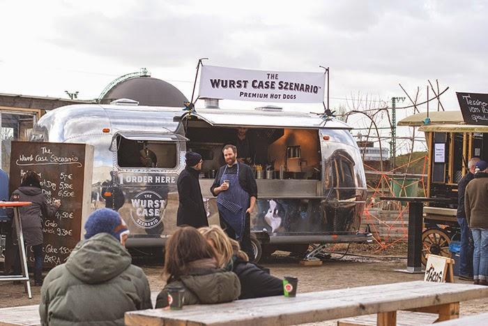 der The Wurst Case Szenario Foodtruck auf dem Gelände des Street Food Festival Köln