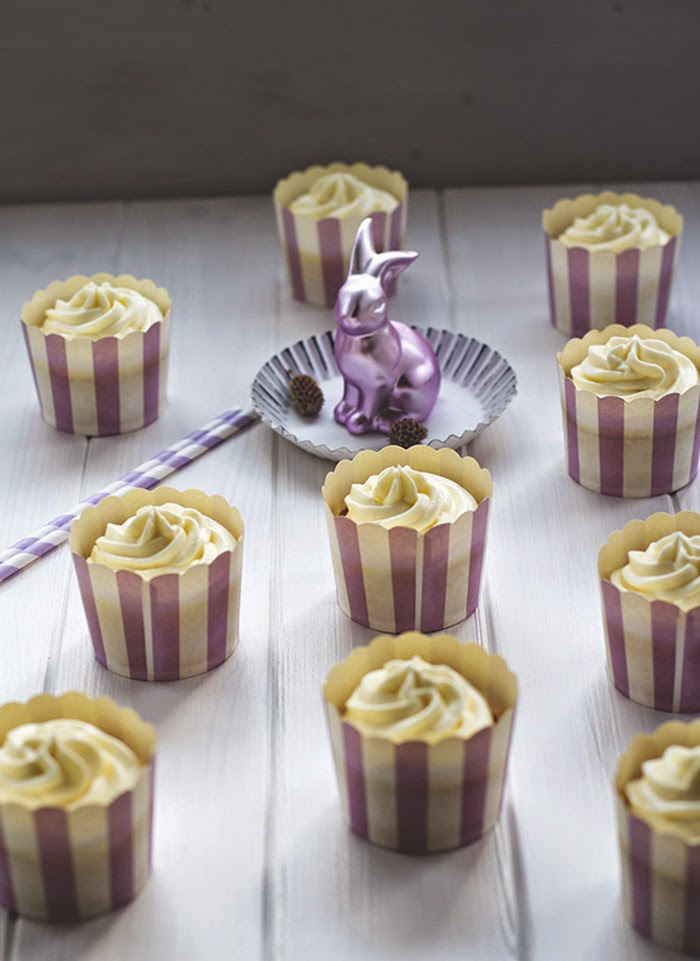 saftige Möhren-Cupcakes mit Frischkäse-Frosting