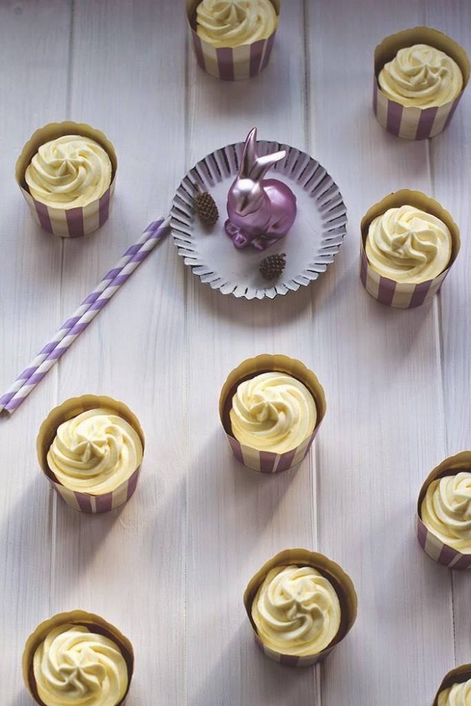 saftige Möhren-Cupcakes mit Frischkäse-Frostng