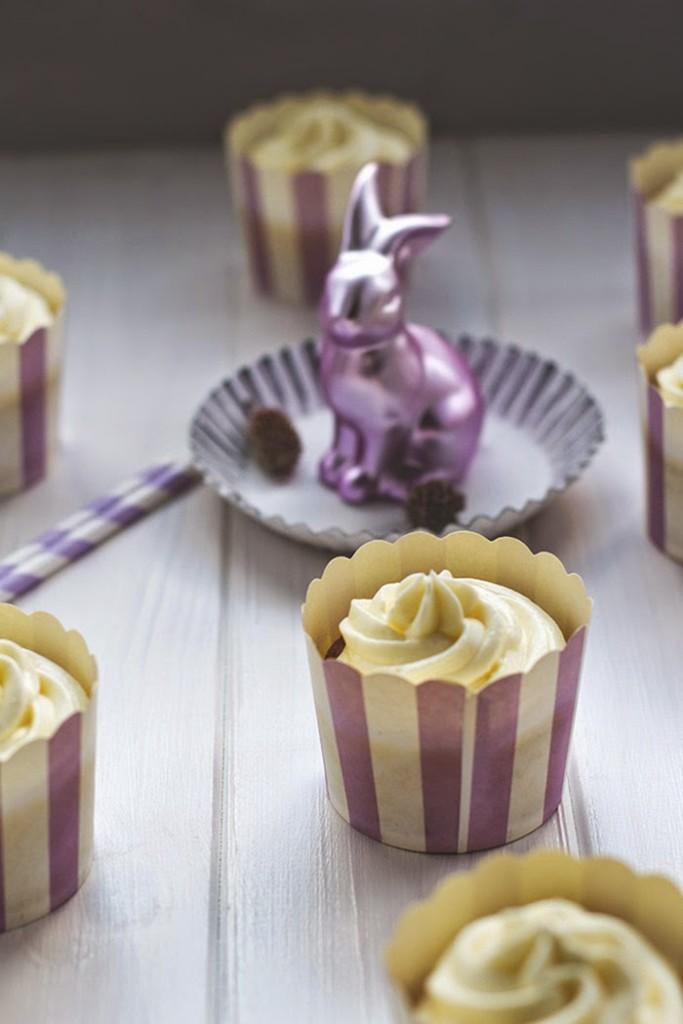 Karroten-Cupcakes mit Frischkäsefrosting