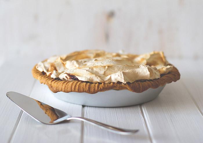 Rhabarber-Baiser-Pie