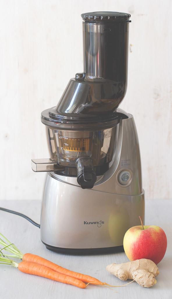 Entsafter: Kuvings Whole Slow Juicer vom Perfekte Gesundhet Shop - grüne Säfte aus dem Slowjuicer
