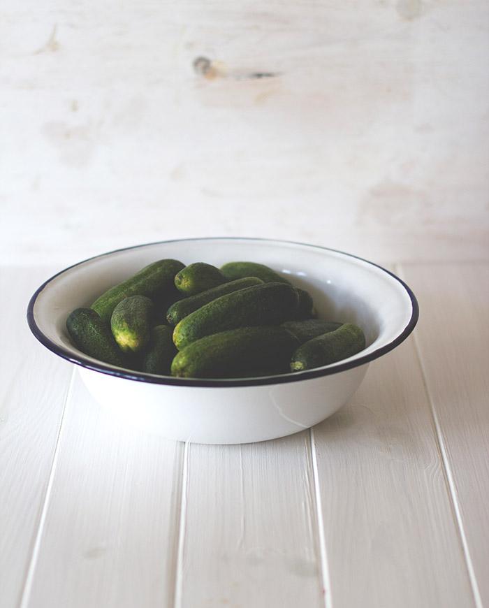 Rezept für eingelegte Gurken bzw. hausgemachte Gewürzgurken - als süßsaure Gurken oder Salzgurken