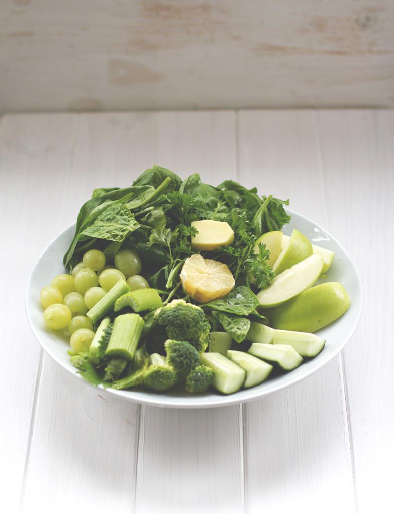 Was man mit einem Entsafter alles anstellen kann. Teil 2: Drink your greens! Grüner Saft
