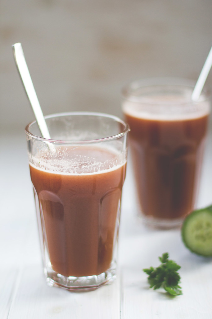 Was man mit einem Entsafter alles anstellen kann. Teil 3: Gazpacho aus dem Slow Juicer
