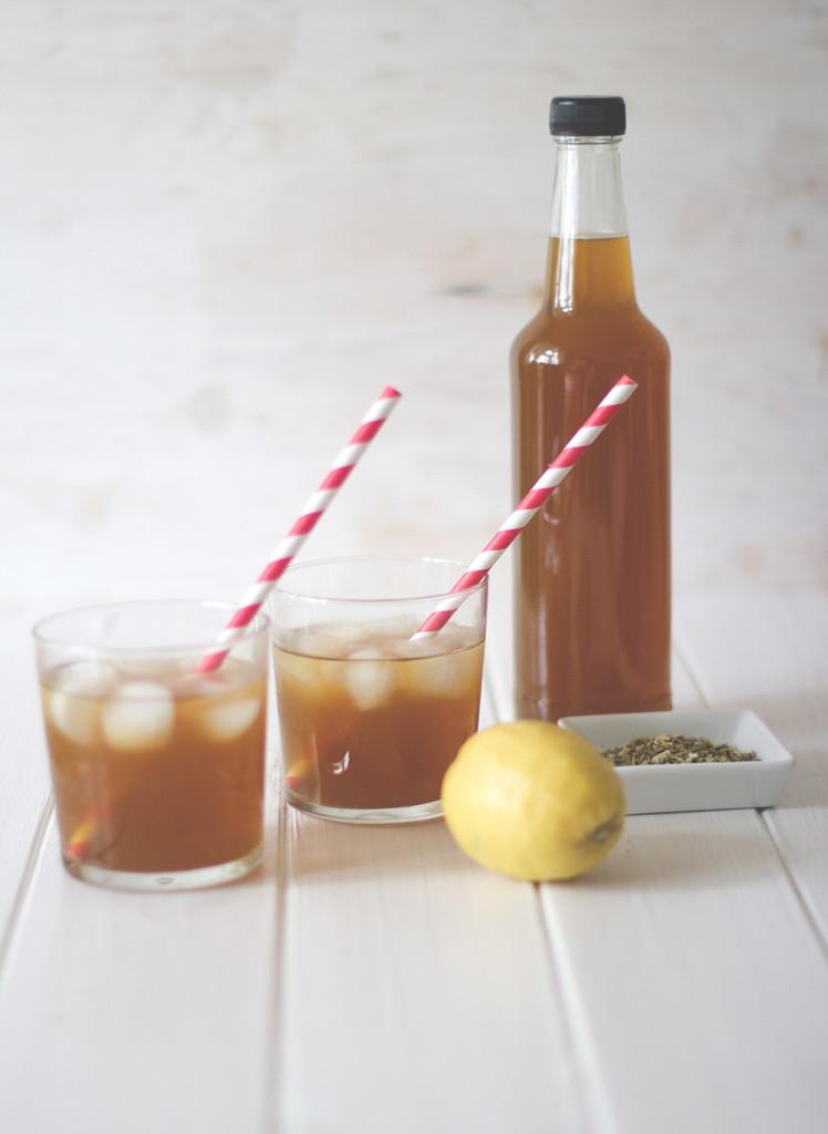 Homemade Mate Eistee - Hipsterlimo ganz einfach für zu Hause selber machen aus Mate Tee