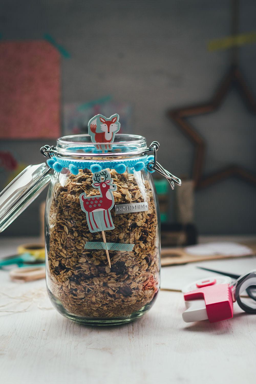 X-mas Granola – Rezept und Verpackungstipps für Weihnachtsmüsli
