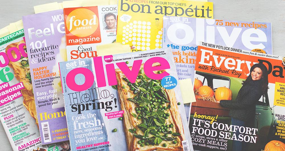 food zeitschriften online ber den zinio reader lesen und rezepte digital in evernote verwalten. Black Bedroom Furniture Sets. Home Design Ideas