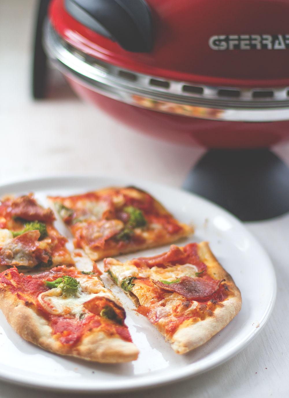 Homemade Pizza mit dem Pizzaofen GFerrari - Pizzabäcker ohne Backofen