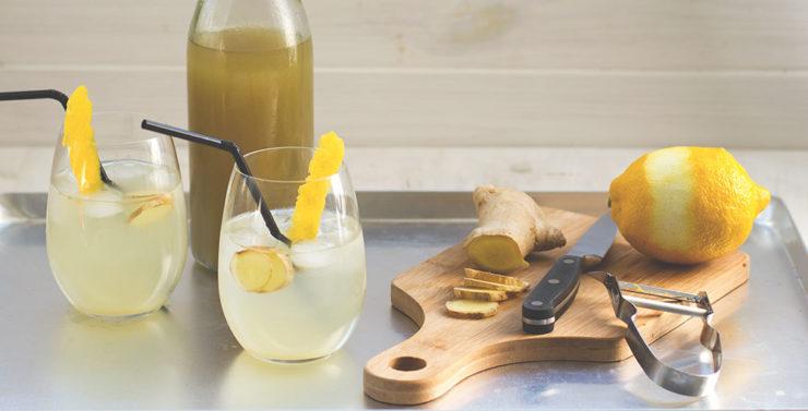 Ingwer-Zitronen-Sirup aus dem Thermomix